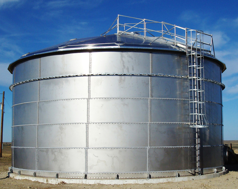 Engineered Bolted Stainless Steel Storage Tanks